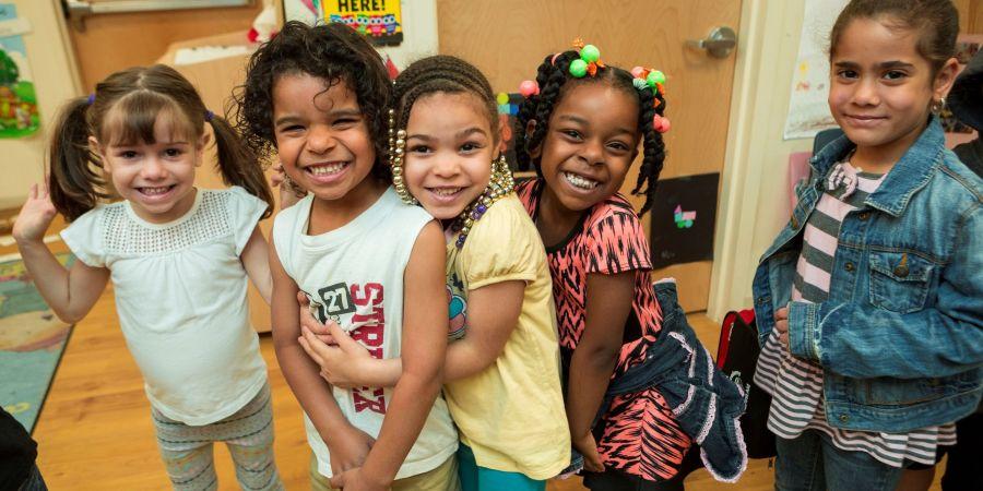 group of children in pre-K